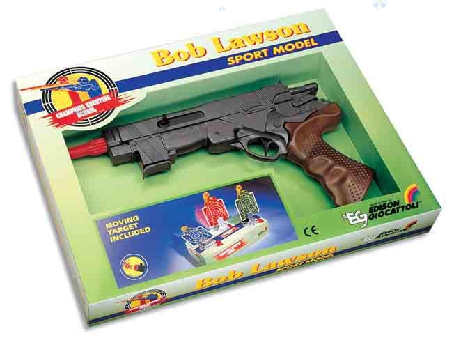 Edison Pistolet na naboje gumowe Bob Lawson 32cm #N1