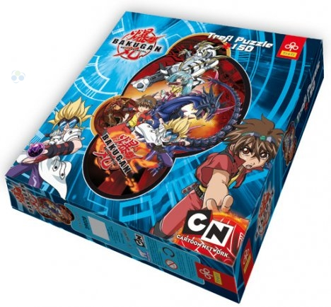 Trefl puzzle konturowe bakugan dan 150el 39028 #N1