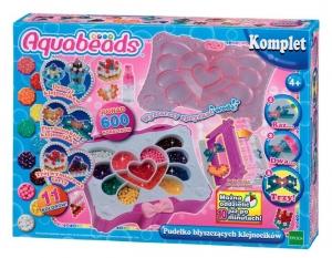 tanie zabawki Aquabeads - Pudełko błyszczących klejnocików *