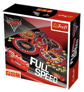 tanie zabawki CARS AUTA GRA PLANSZOWA 2 W 1