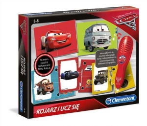 tanie zabawki GRA KOJARZ I UCZ SIĘ CARS AUTA 3 Z PIÓREM