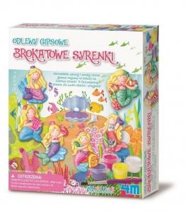 tanie zabawki ODLEWY GIPSOWE BROKATOWE SYRENKI - MINI MAGNESY LUB WPINKI