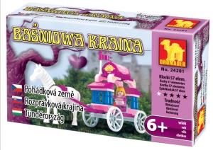 tanie zabawki BAŚNIOWA KRAINA 24201 KAROCA 57 ELEMENTÓW