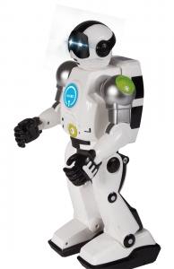 tanie zabawki ROBOT KNABO PONAD 80 FUNKCJI ROBOT + PILOT CZARNY