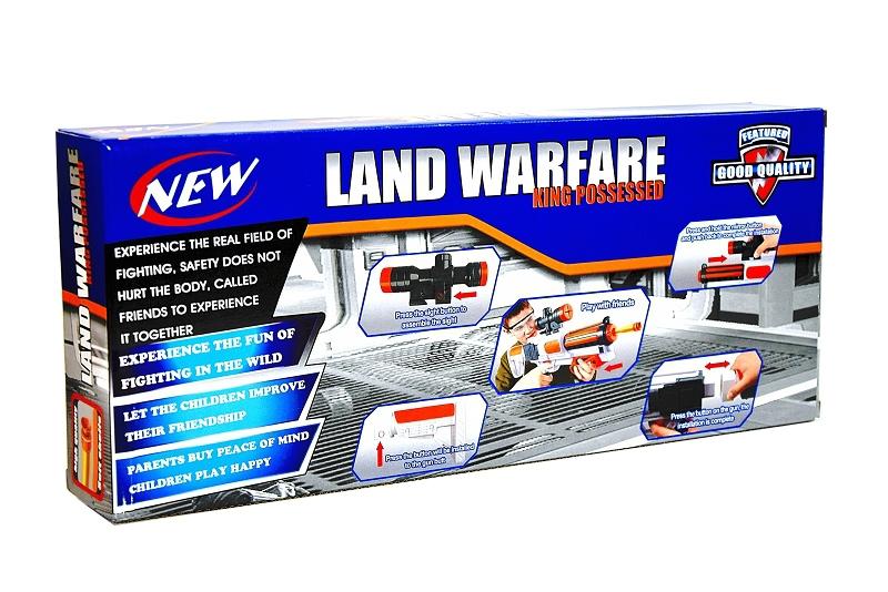 Pistolet na miękkie pociski wyrzutnia przyssawki #N1