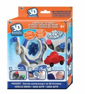 tanie zabawki 3D MAGIC SPINNER SAMOCHÓD ZESTAW UZUPEŁNIAJĄCY