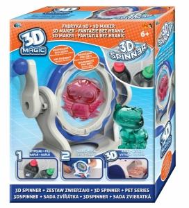 tanie zabawki 3D MAGIC SPINNER ZWIERZĄTKA ZESTAW UZUPEŁNIAJĄCY