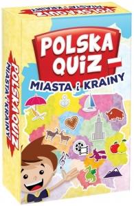 tanie zabawki Gra rodzinna Polska quiz - miasta i krainy