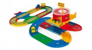 tanie zabawki Wader 51792 Garaż i Tor stacja przesiadkowa 5 metów #A1