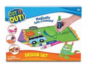 tanie zabawki CUT IT OUT WYCINANKA WYCINANIE  DESIGN SET