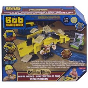 tanie zabawki Bob Budowniczy Naprawa mostu + piasek kinetyczny