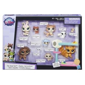 tanie zabawki LITTLEST PET SHOP ZESTAW 11 FIGUREK DOMOWE ZWIERZĄTKA