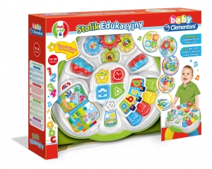 tanie zabawki INTERAKTYWNY STOLIK EDUKACYJNY ROZMOWA I EDUKACJA