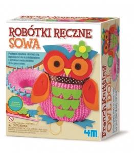 tanie zabawki ART CRAFT ROBÓTKI RĘCZNE SOWA