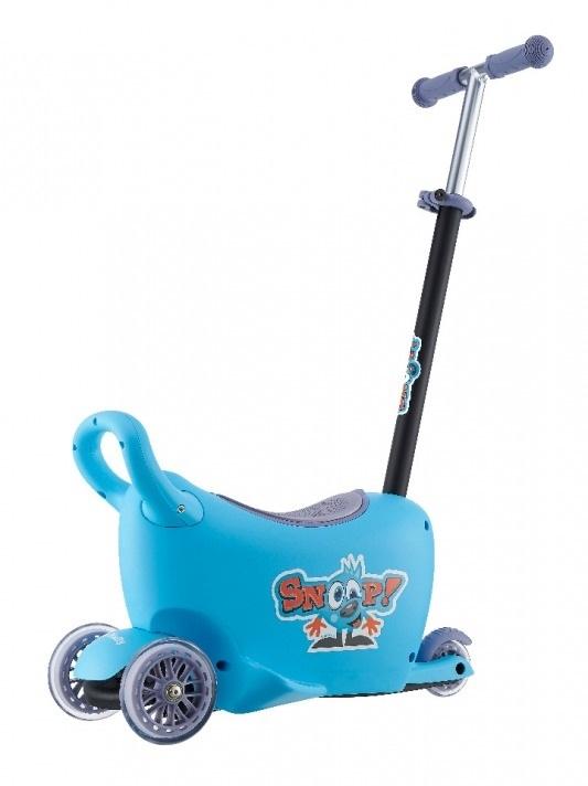 Jeździk SNOOP 3w1 BLUE #B1