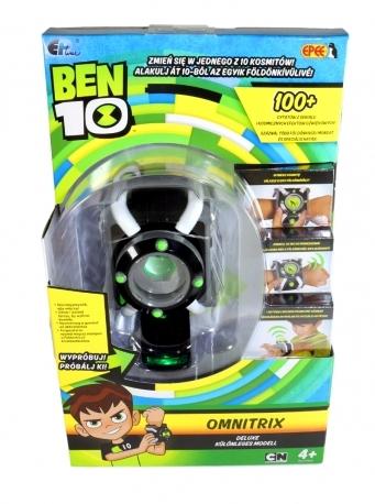 BEN 10 OMNITRIX DELUXE EFEKTY DŹWIĘKOWE