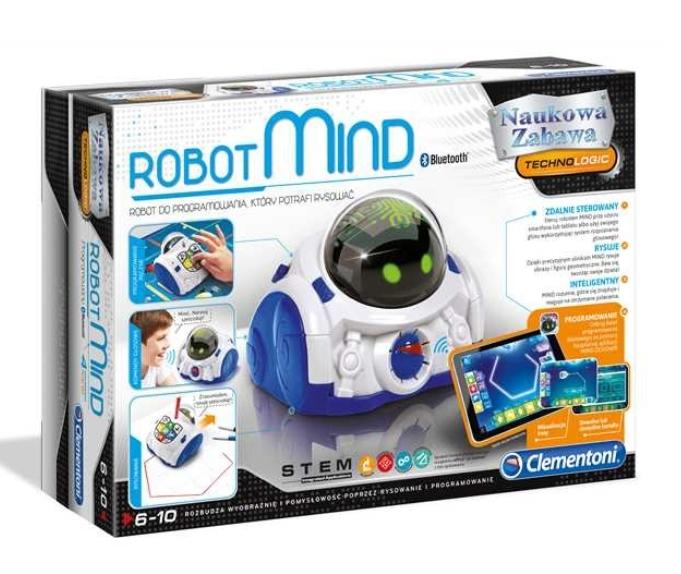 ROBOT MIND DESIGNER CLEMENTONI BLUETOOTH UCZY