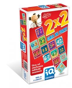 tanie zabawki GRA IQ 2X2 W PARY