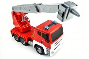 tanie zabawki CITY TRUCK - WÓZ STRAŻY POŻARNEJ RC #E1