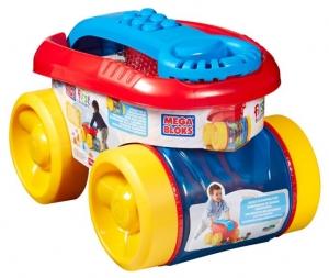 tanie zabawki Zbieracz klocków + 20 klocków FIRST BUILDERS *