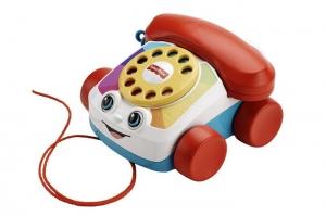 tanie zabawki Fisher Price Telefonik dla gadułki *