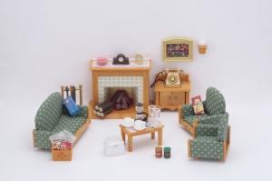 tanie zabawki Sylvanian Families Luksusowy zestaw do salonu*