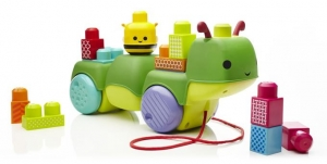 tanie zabawki Mega Bloks Wędrująca gąsieniczka First Builders *