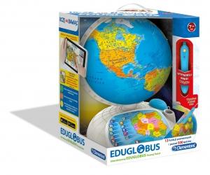 tanie zabawki INTERAKTYWNY EDUGLOBUS POZNAJ ŚWIAT UCZĘ SIĘ BAWIĄC REKLAMA