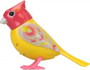tanie zabawki DIGIBIRDS SERIA 4 ŚPIEWAJĄCY PTASZEK ŻÓŁTO CZERWONY
