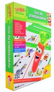 tanie zabawki KAROTKA QUIZ DLA PRZEDSZKOLAKA 3-4 LAT NOWE