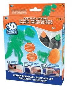 tanie zabawki 3D MAGIC ZESTAW DINOZAURY EPEE ZESTAW UZUPEŁNIAJĄCY REKLAMA