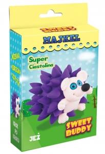 tanie zabawki SUPER CIASTOLINA ZESTAW DO ZROBIENIA JEŻA