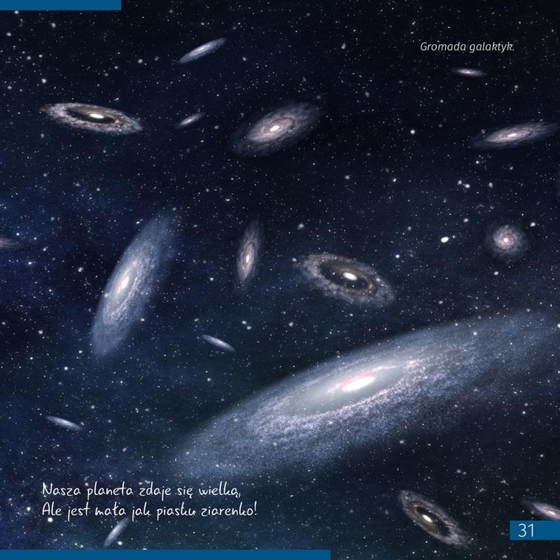 Kosmos. Niepusta pustka. Skarbnica wiedzy #M1